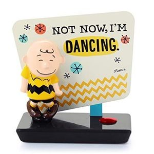 Charlie Brown Not Now I'm Dancing Home Decoration